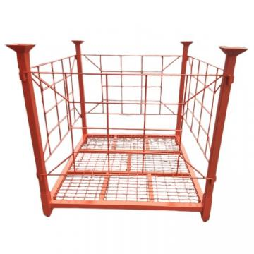 Heavybao Commercial Kitchen Metal Stainless Steel Tube Four-Layer Grid Storage Rack