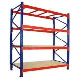 Foldable Powder Coating Metal Car/Truck Warehouse Tire Rack for Sale